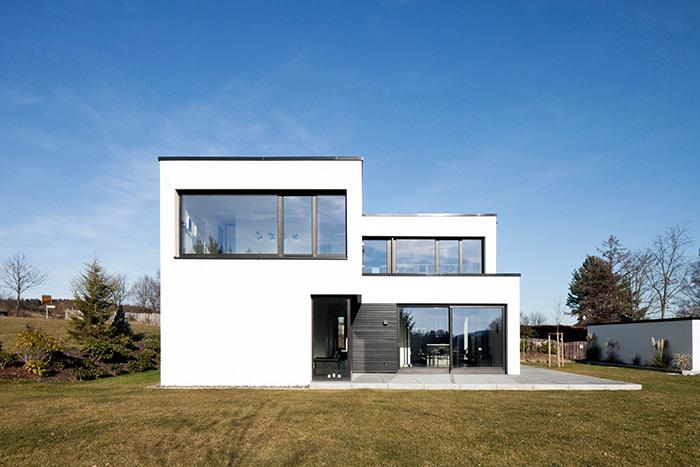 Burbach b2 architektur haus l for L formiges haus